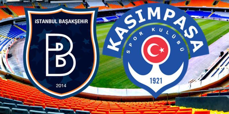Başakşehir, Kasımpaşa Süper Lig maçı ne zaman, saat kaçta?