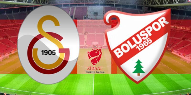 Ziraat Türkiye Kupası: Galatasaray, Boluspor maçı ne zaman, hangi kanalda?