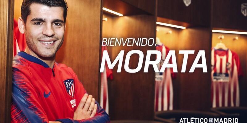 Alvaro Morata Atletico Madrid'de