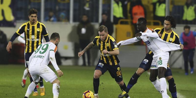 Ankaragücü 0-2 Alanyaspor / Maç Özeti