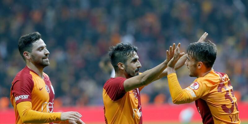 Galatasaray 4-1 Boluspor / Maç Özeti