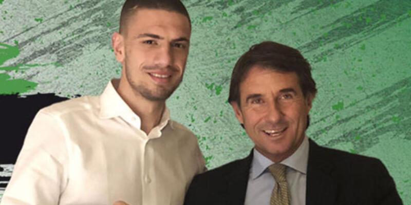 Merih Demiral'dan Sassuolo'ya: Ciao