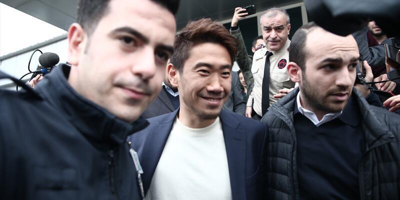 Shinji Kagawa İstanbul'a geldi