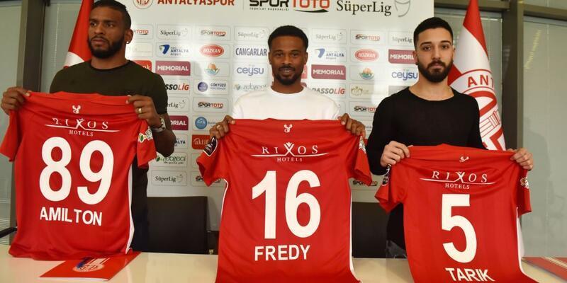 Tarık Çamdal, Fredy ve Amilton Antalyaspor'da