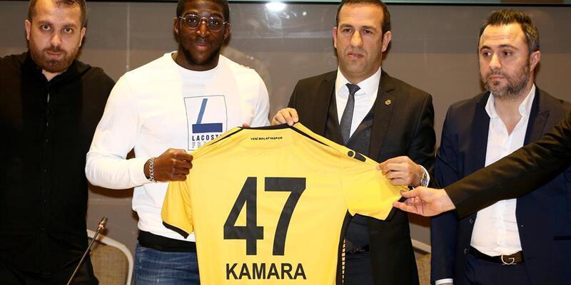 Yeni Malatyaspor Aboubakar Kamara'yı açıkladı