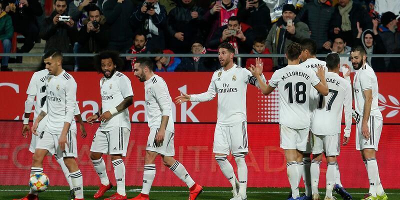 Real Madrid zorlanmadan yarı finalde