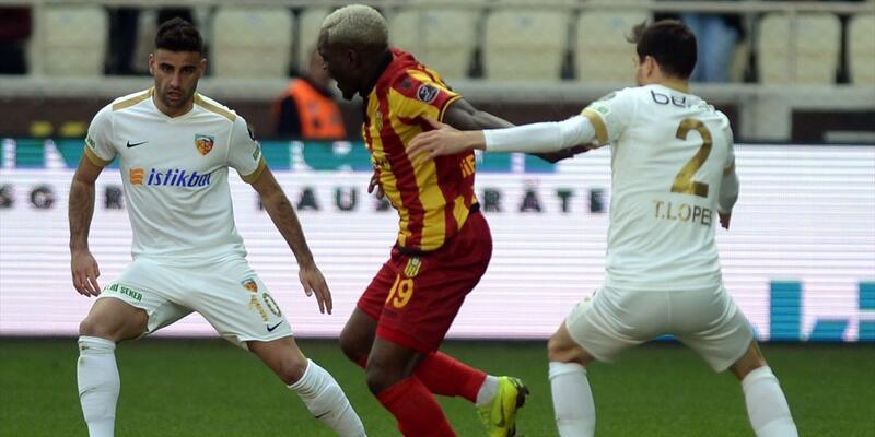 Evkur Yeni Malatyaspor, Kayserispor 1 - 1 ( Maç özeti)