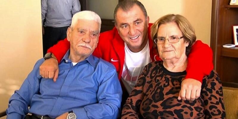 Fatih Terim babası için Adana'ya gitti