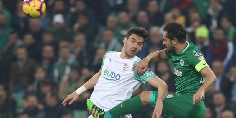 Bursaspor 0-0 Konyaspor / Maç Özeti
