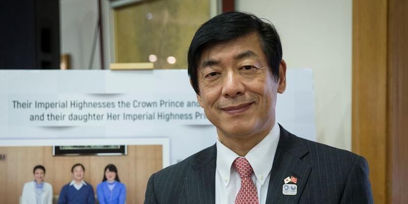 Japon Büyükelçi'nin Kagawa mutluluğu