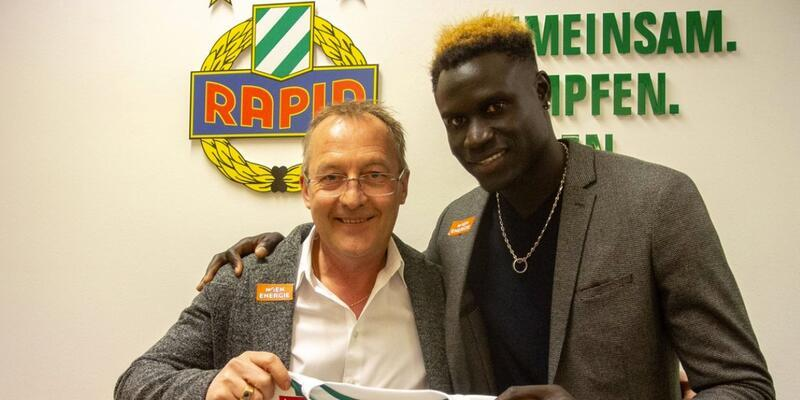 Aliou Badji Rapid Wien'de