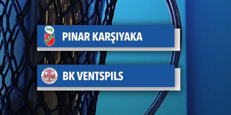 Karşıyaka son 16 turunda Ventspils ile eşleşti