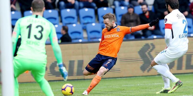 Başakşehir 1-1 BB Erzurumspor / Maç Özeti