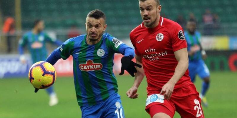 Çaykur Rizespor 1-1 Antalyaspor / Maç özeti