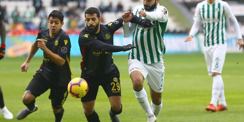 Konyaspor 1-1 Yeni Malatyaspor / Maç Özeti