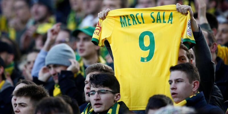 Nantes - Nimes maçında Emiliano Sala unutulmadı