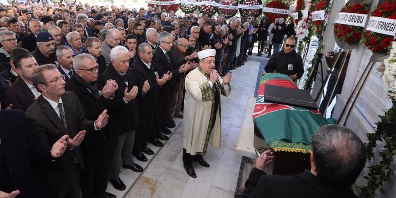 Bülent Zeren'in cenazesi toprağa verildi