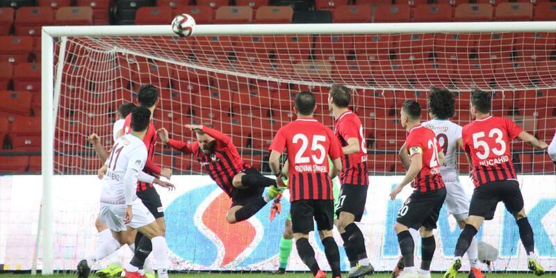 Gazişehir Gaziantep 2-0 Hatayspor maç sonucu