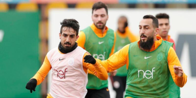 Galatasaray Benfica maçı hazırlıklarını sürdürüyor