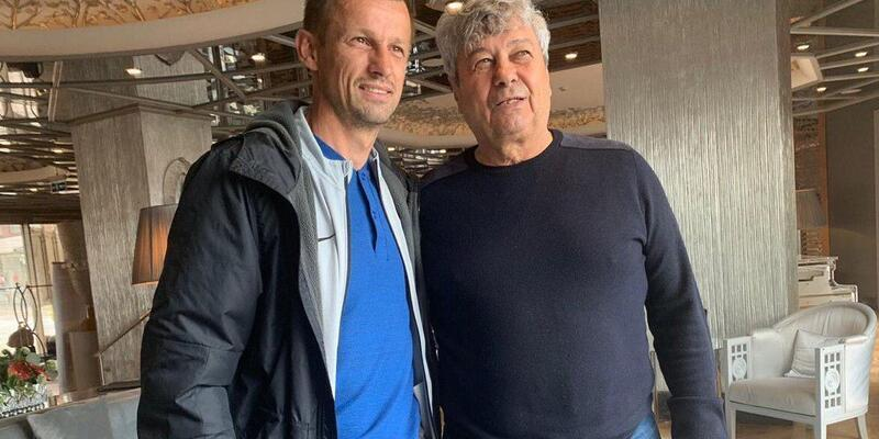Mircea Lucescu İstanbul'a gelen Zenit'i ziyaret etti