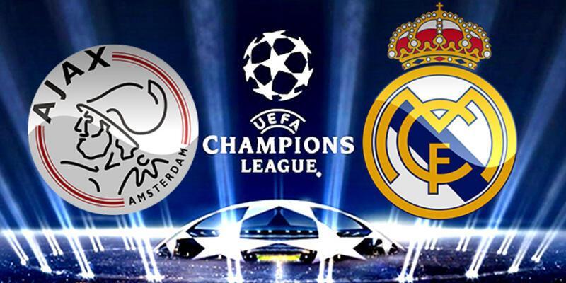 Ajax, Real Madrid Şampiyonlar Ligi maçı ne zaman, saat kaçta, hangi kanalda?