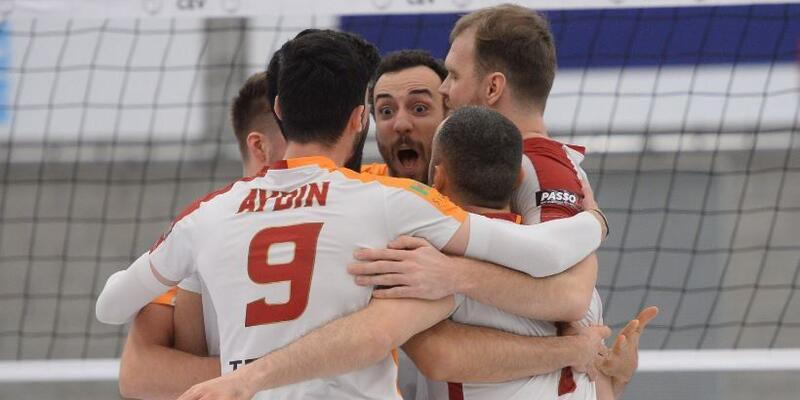 Galatasaray CEV Kupası'nda yarı finalde