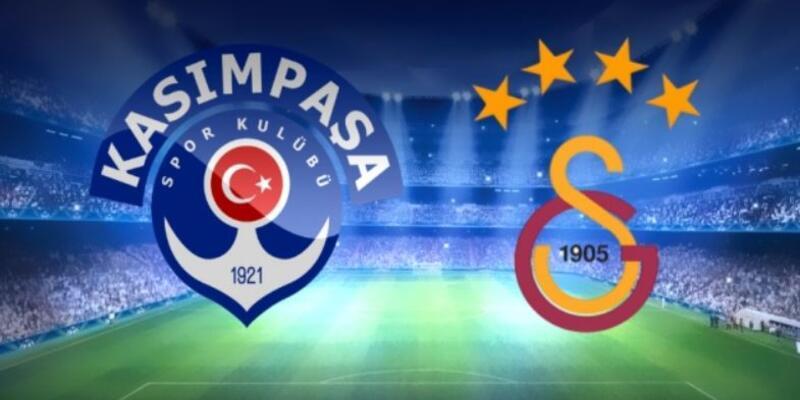 Kasımpaşa - Galatasaray maçı muhtemel 11'leri