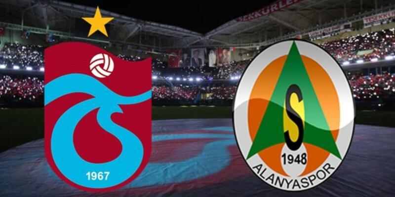 Trabzonspor - Alanyaspor maçı muhtemel 11'leri