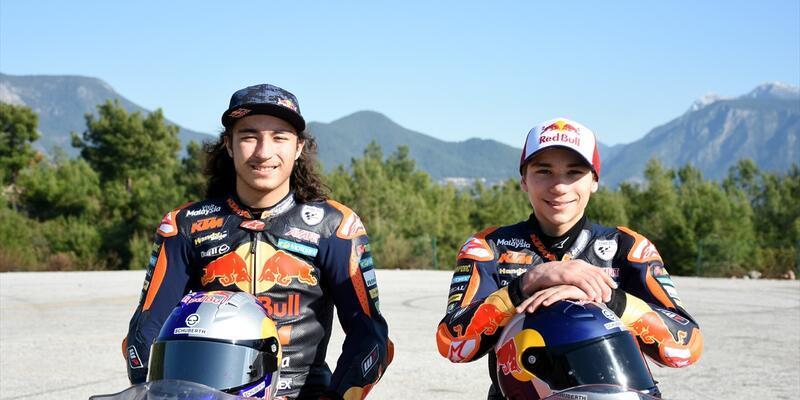 Can ve Deniz Öncü kardeşler MotoGP şampiyonluğunu hedefliyor