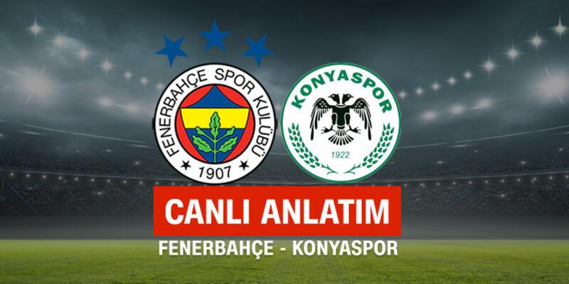CANLI Fenerbahçe - Konyaspor
