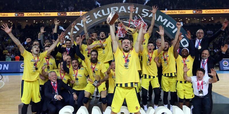 Fenerbahçe Türkiye Kupası şampiyonu oldu