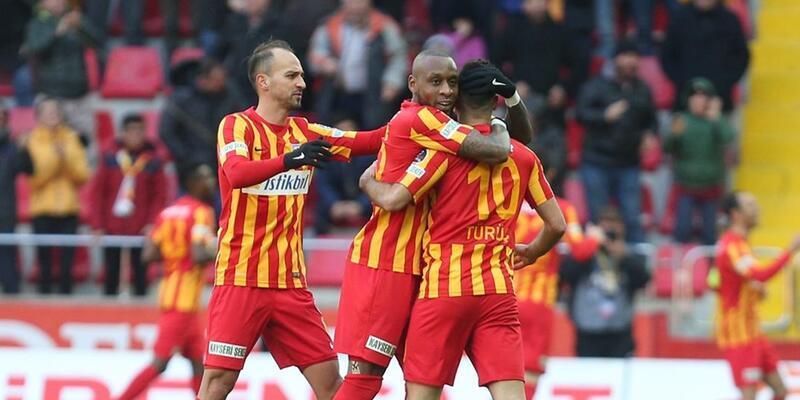 Kayserispor'dan 8 maçlık yenilmezlik serisi