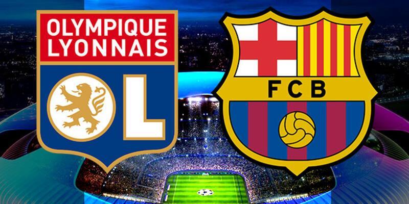 Lyon, Barcelona Şampiyonlar Ligi maçı ne zaman, saat kaçta, hangi kanalda?