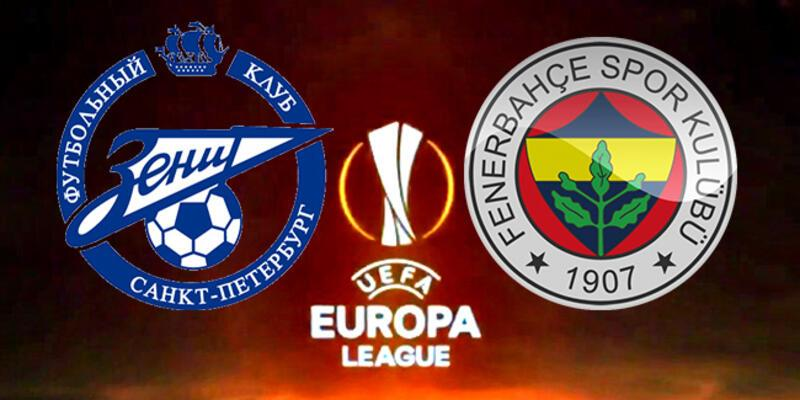 Zenit - Fenerbahçe rövanş maçı hangi kanalda, saat kaçta?