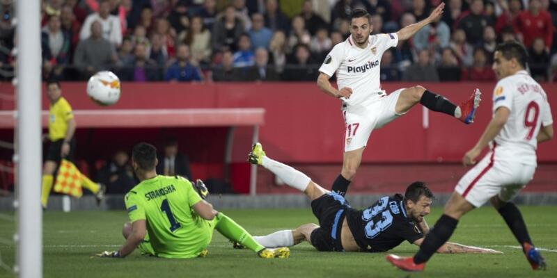 Sevilla Avrupa Ligi'nde son 16'ya kalan ilk takım oldu