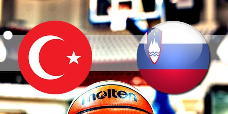 Türkiye, Slovenya basketbol maçı ne zaman, saat kaçta, hangi kanalda?