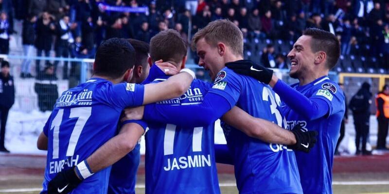 BB Erzurumspor ligde kalma umudunu kaybetmedi