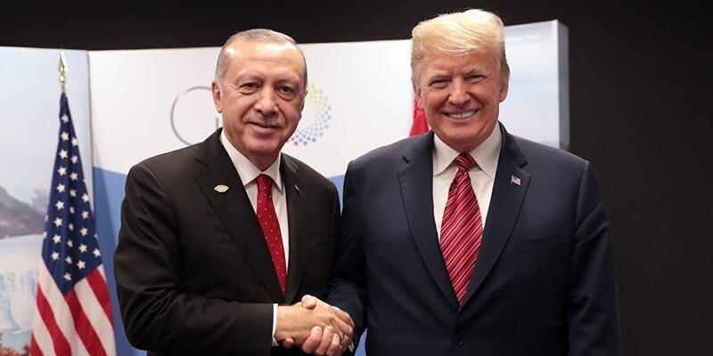 Cumhurbaşkanı Erdoğan ABD Başkanı Donald Trump'la görüştü