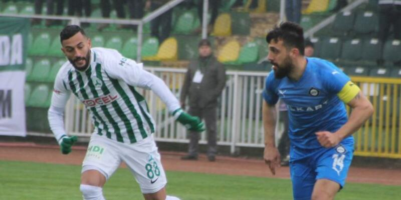 Giresunspor 1-2 Altay / Maç özeti