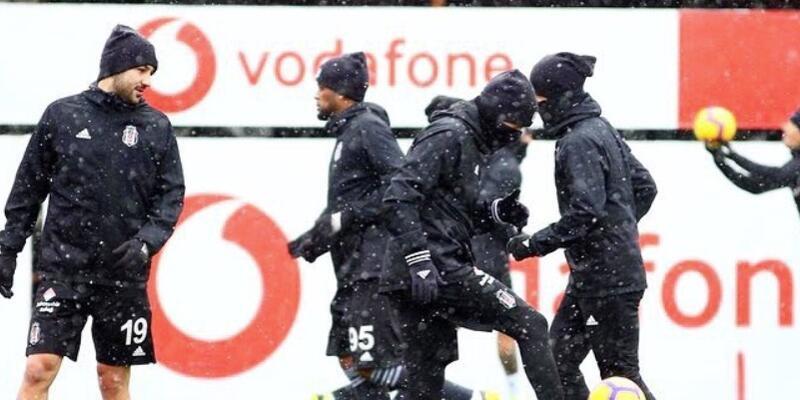 Beşiktaş derbi hazırlıklarını tamamladı