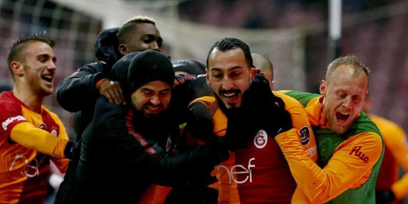 Galatasaray 1-0 Akhisar / Maç Özeti