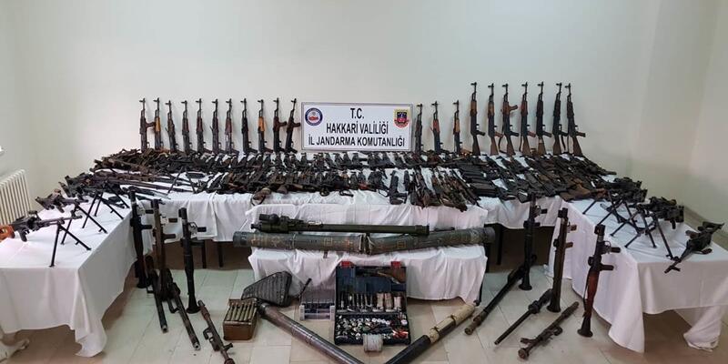 Terör örgütü PKK'ya Hakkari ve Irak'ta ağır darbe: 715 terörist etkisiz hale getirildi