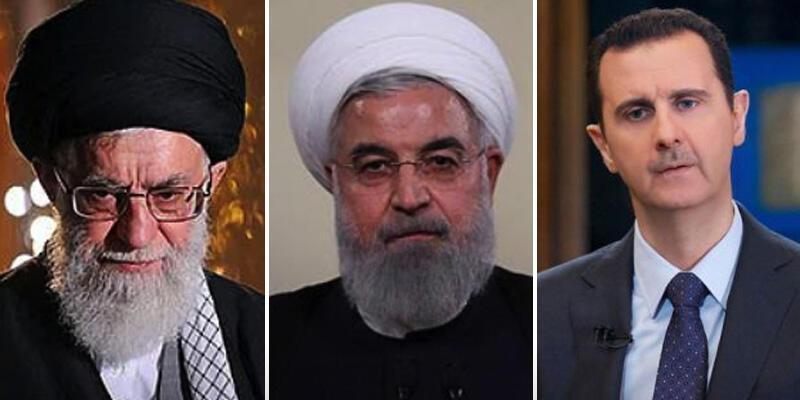 Esad, Tahran'da Hamaney ve Ruhani ile görüştü
