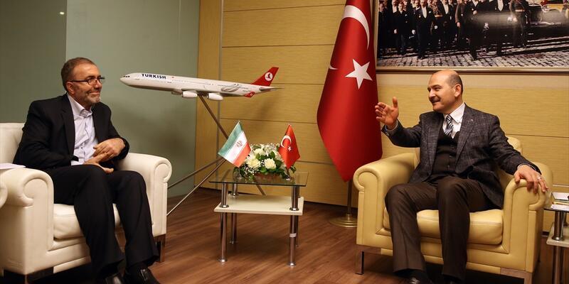 İçişleri Bakanı Soylu Zülfikari'yi kabul etti