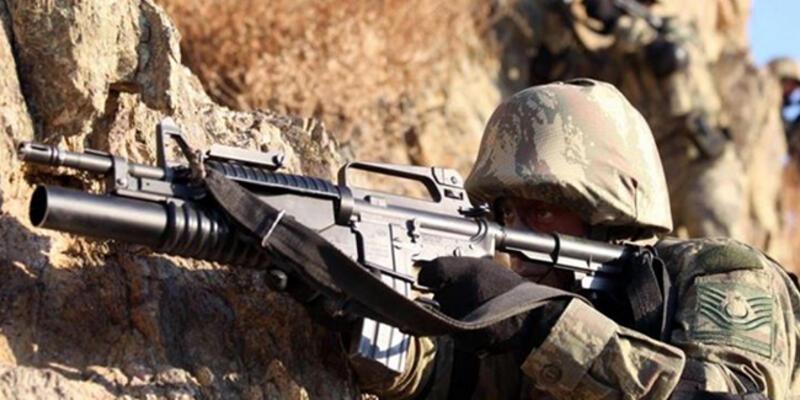 Siirt'te PKK'lı teröristlerin 3 sığınağı imha edildi