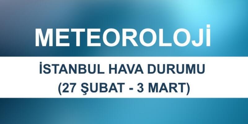 İstanbul hava durumu beş günlük sıcaklık verileri Meteoroloji sitesinde yayınlandı
