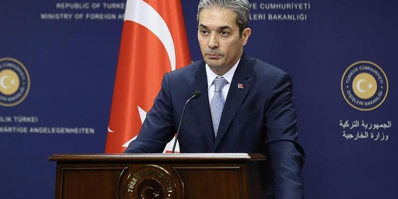 Dışişleri Bakanlığı Sözcüsü Aksoy: Avrupalı muhataplarımızı PKK konusunda uyarmıştık