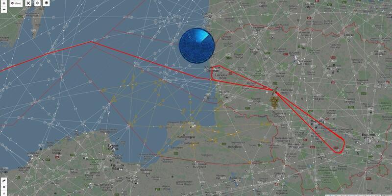 ABD'ye ait İHA, Rusya üzerinde keşif uçuşu yaptı