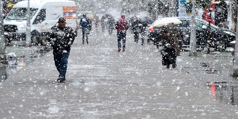 Son Dakika: Marmara'da kar yağışı bekleniyor