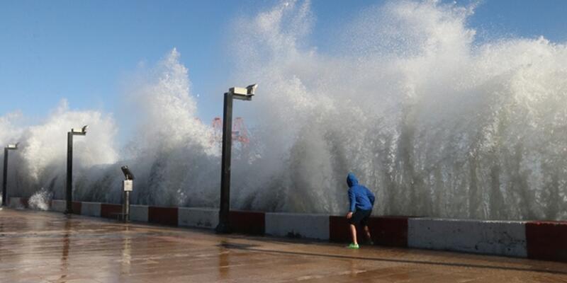 Son dakika: Akdeniz ve İç Anadolu'da fırtına uyarısı